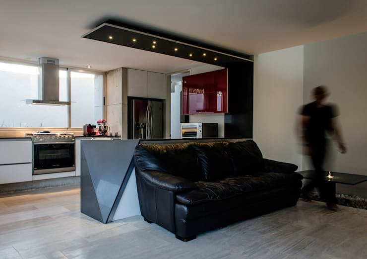 Cocinas de estilo moderno por Oscar Hernández - Fotografía de Arquitectura
