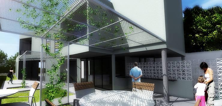 Casa S: Casas  por Rede Arquitetos,