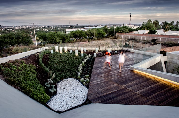 Terrazas de estilo  por Oscar Hernández - Fotografía de Arquitectura