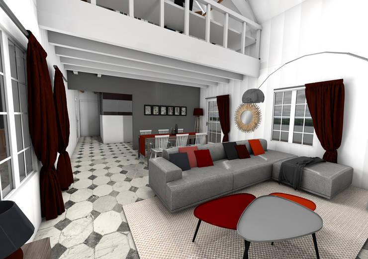 Le salon: Salon de style  par Dem Design