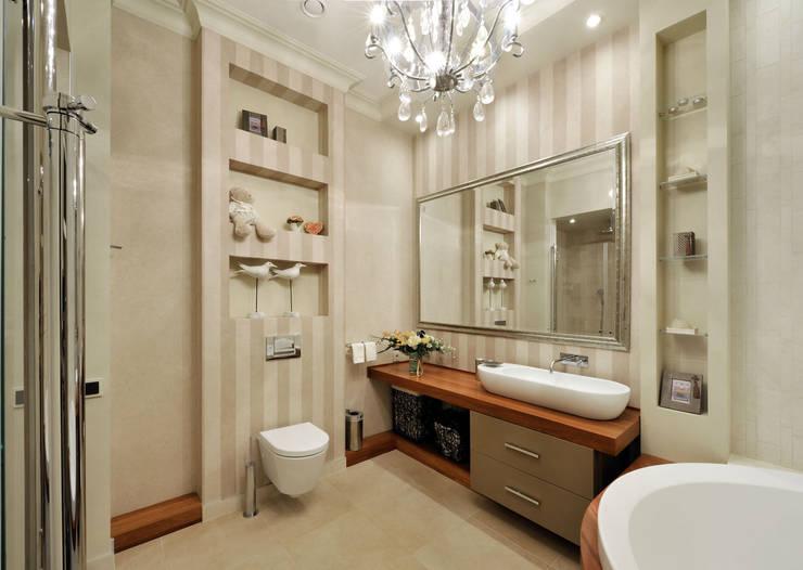Квартира на Староволынской: Ванные комнаты в . Автор – Дизайн-студия «ARTof3L»