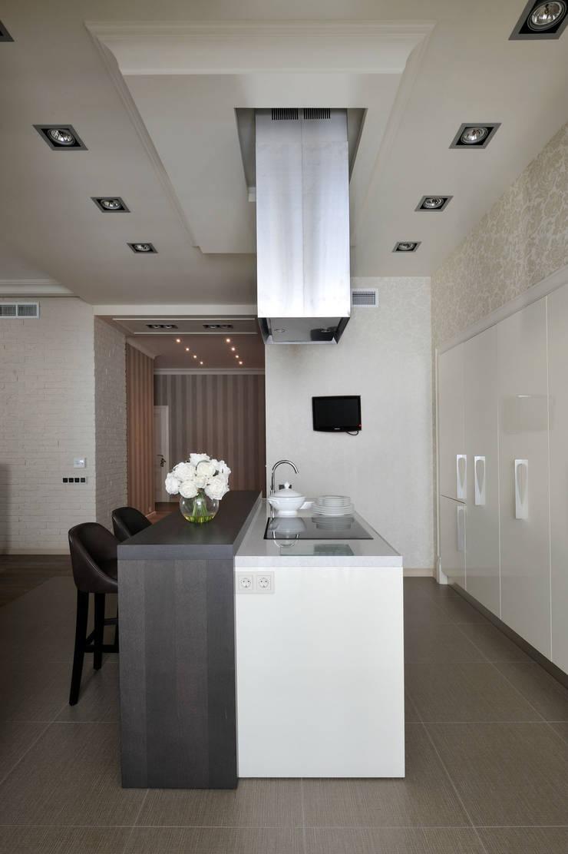 Квартира на Староволынской: Кухни в . Автор – Дизайн-студия «ARTof3L»