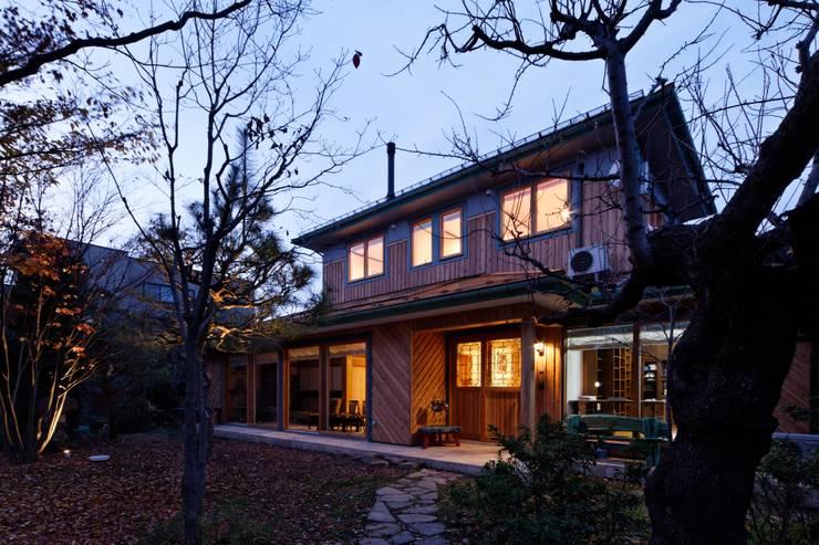 K邸 Renovation: 株式会社山崎屋木工製作所 Curationer事業部が手掛けた家です。,