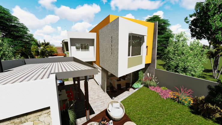 Casa AM: Casas de estilo moderno por Módulo 3 arquitectura