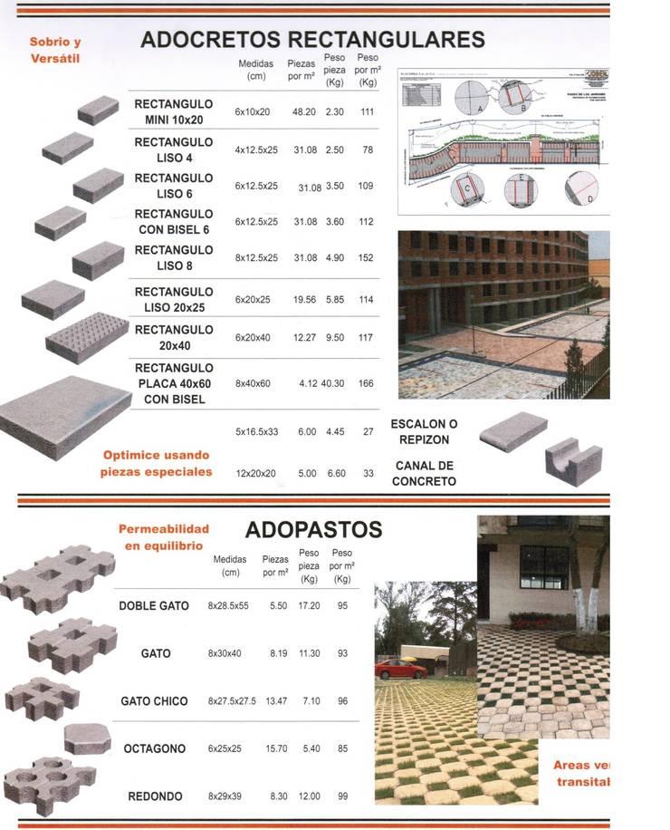 CONCRETO: Terrazas de estilo  por ENFOQUE CONSTRUCTIVO