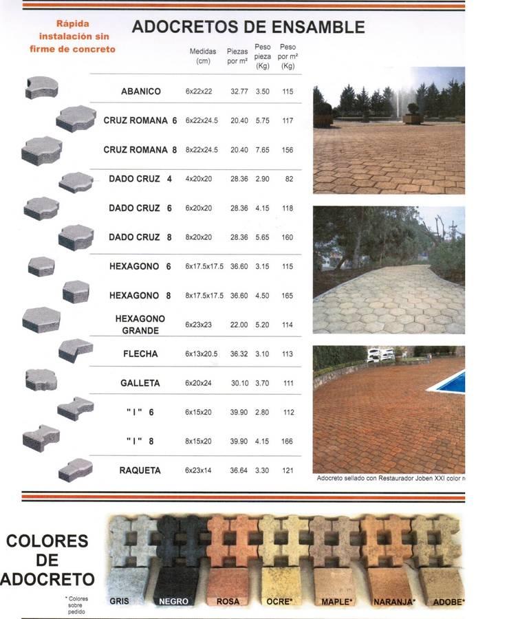 CONCRETO: Pasillos y recibidores de estilo  por ENFOQUE CONSTRUCTIVO