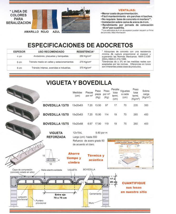 CONCRETO: Cavas de estilo  por ENFOQUE CONSTRUCTIVO