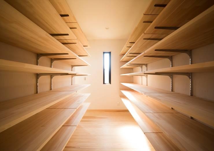 Projekty,  Garaż zaprojektowane przez ナイトウタカシ建築設計事務所