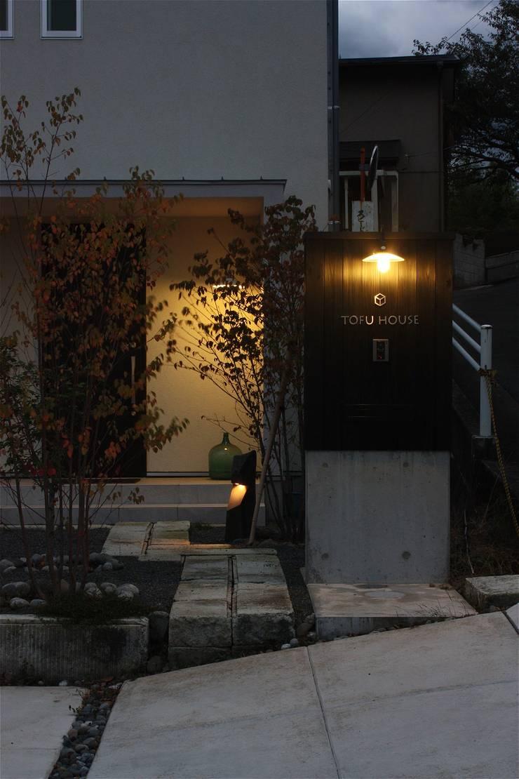 庭院 by atelier shige architects /アトリエシゲ一級建築士事務所, 現代風 木頭 Wood effect