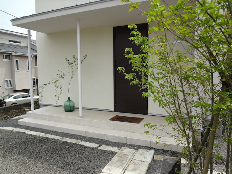 Houses by atelier shige architects /アトリエシゲ一級建築士事務所, Modern Stone