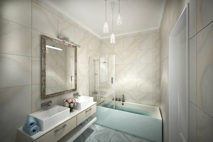 Ванная комната: Ванные комнаты в . Автор – Анастасия Муравьева