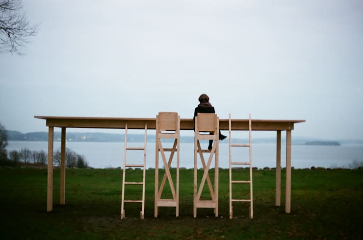 The fragile table : Hidemi Nishidaが手掛けたダイニングルームです。