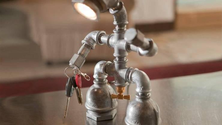 Kozo Man: styl , w kategorii  zaprojektowany przez Kozo Lamp Poland,Industrialny