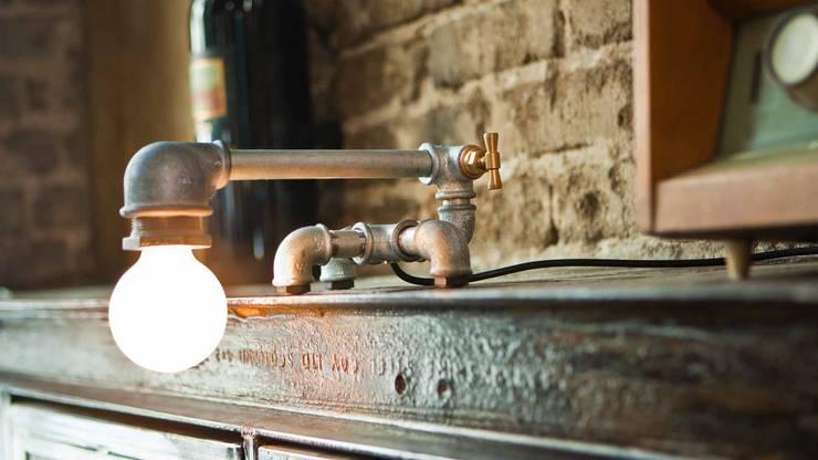 Kozo 21: styl , w kategorii Domowe biuro i gabinet zaprojektowany przez Kozo Lamp Poland