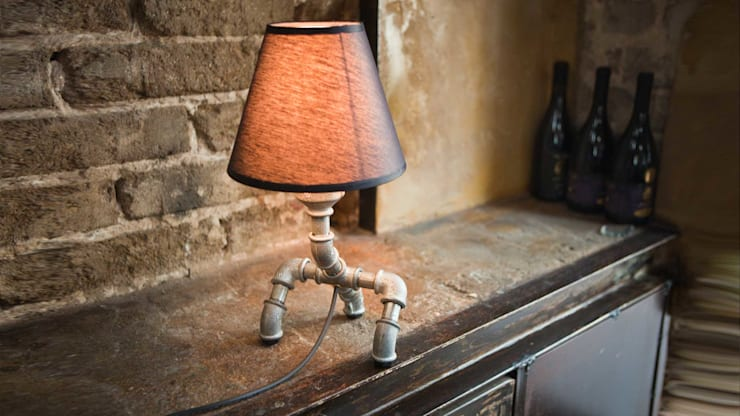 Giga: styl , w kategorii Salon zaprojektowany przez Kozo Lamp Poland,