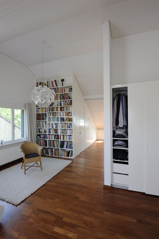 Schneider Gmür Architekten의  서재 & 사무실
