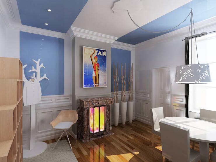 Pasillos y vestíbulos de estilo  por interlude