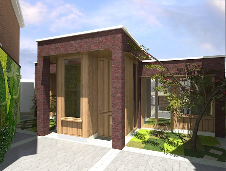 Barnet Bungalow:  Houses by Satish Jassal Architects