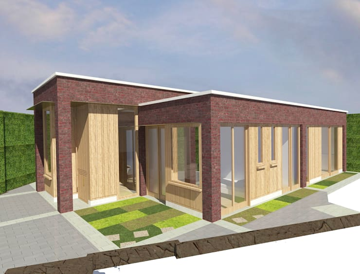 Barnet Bungalow: modern Houses by Satish Jassal Architects