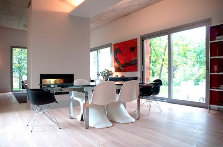 Salas de estar escandinavas por rdl arquitectura
