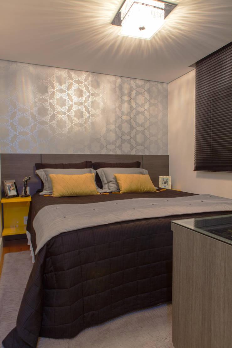 Conforto e Bem Estar: Quartos  por Lilian Barbieri Interior Design