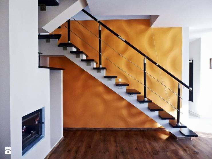 Panele gipsowe 3D Loft Design System, Dekory 1-10: styl , w kategorii Ściany zaprojektowany przez DecoMania.pl,