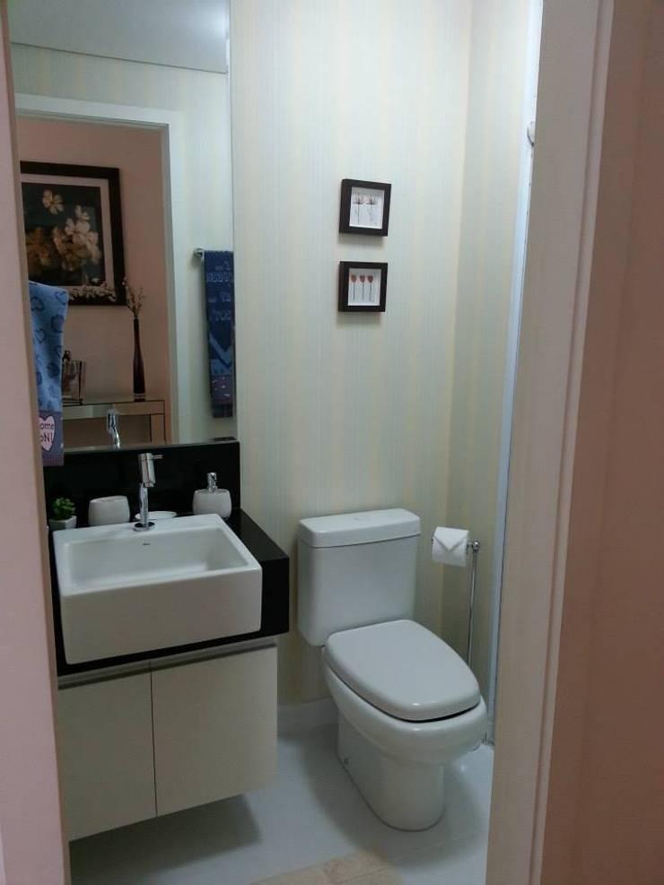Lavabo: Banheiro  por SD arquitetura & Interiores,