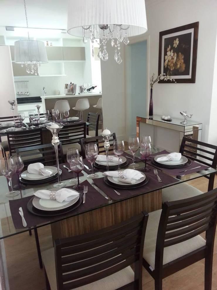 Sala de jantar: Sala de jantar  por SD arquitetura & Interiores,