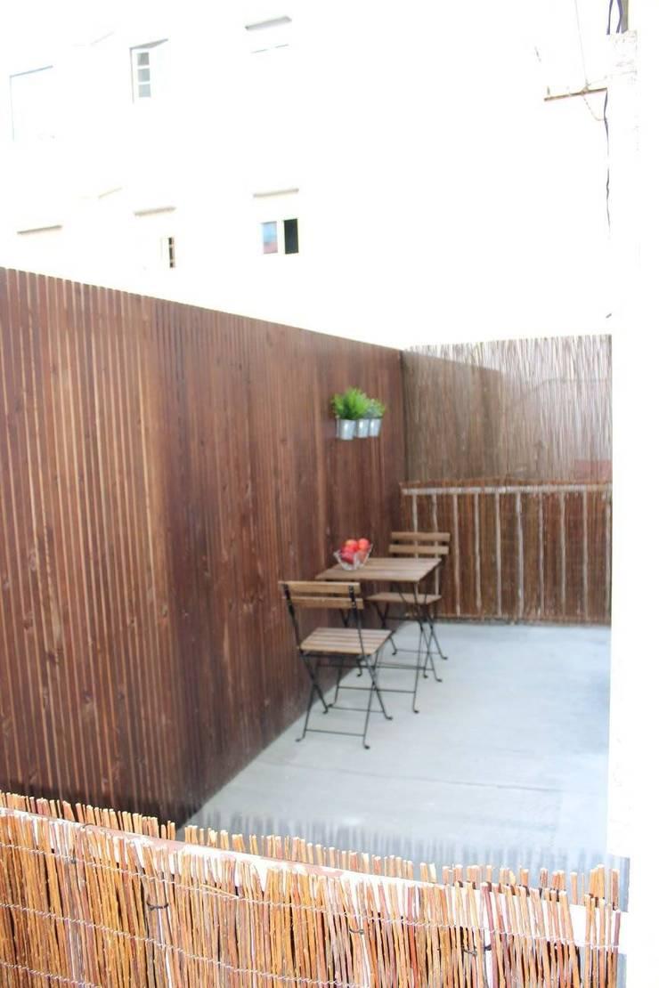 Recuperação de Estúdio: Terraços  por Gabiurbe, Imobiliária e Arquitetura, Lda