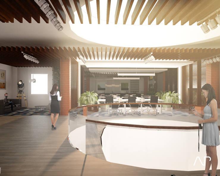 Oficinas Corporativas Distribuidora Grupo Modelo:  de estilo  por AP studioarq