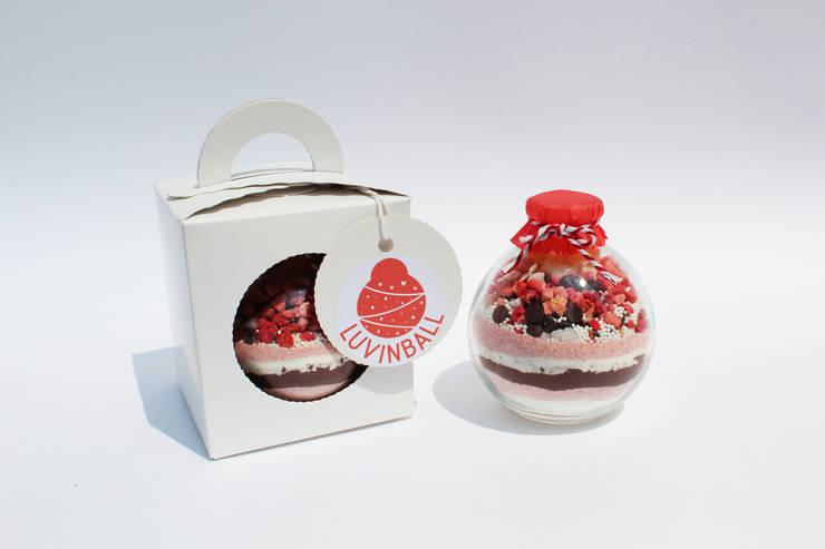 Loving ball, Love in ball 유리볼 속 유니크한 세상 : luvinball의  가정 용품
