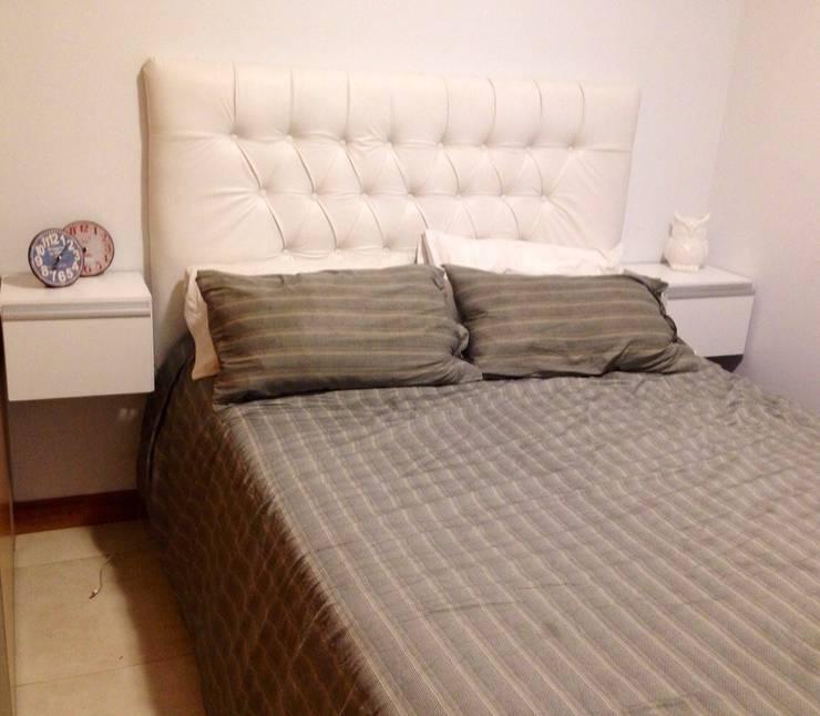 Muebles de dormitorio: Dormitorios de estilo moderno por fabmueb amoblamientos