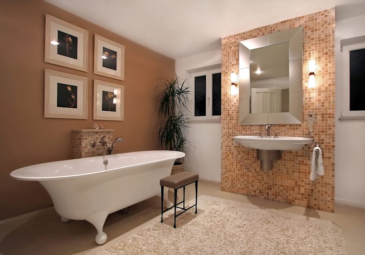 classic Bathroom by Custom  Media