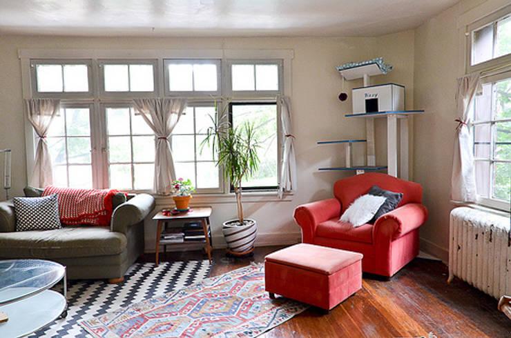 Living room by Custom  Media