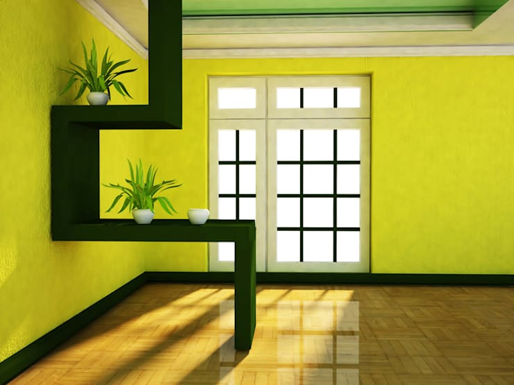 Interior landscaping by Custom  Media