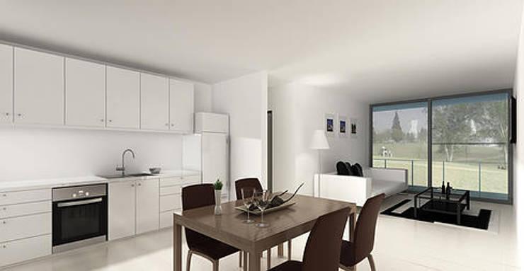 Projekty,  Kuchnia zaprojektowane przez 520 arquitectos