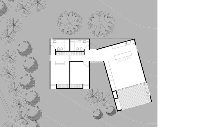 CASA CS:  de estilo  por 520 arquitectos