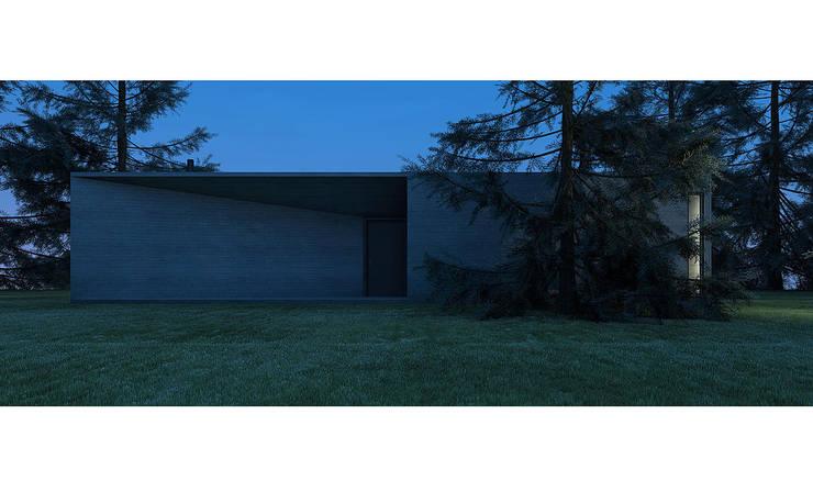 CASA CS: Casas de estilo moderno por 520 arquitectos