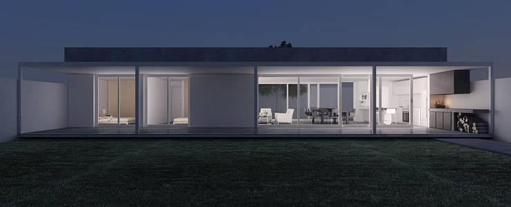 Casa GC: Casas de estilo  por 520 arquitectos
