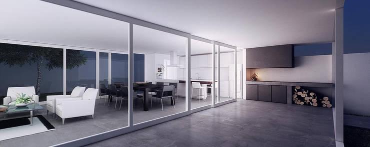 Casa GC: Comedores de estilo  por 520 arquitectos