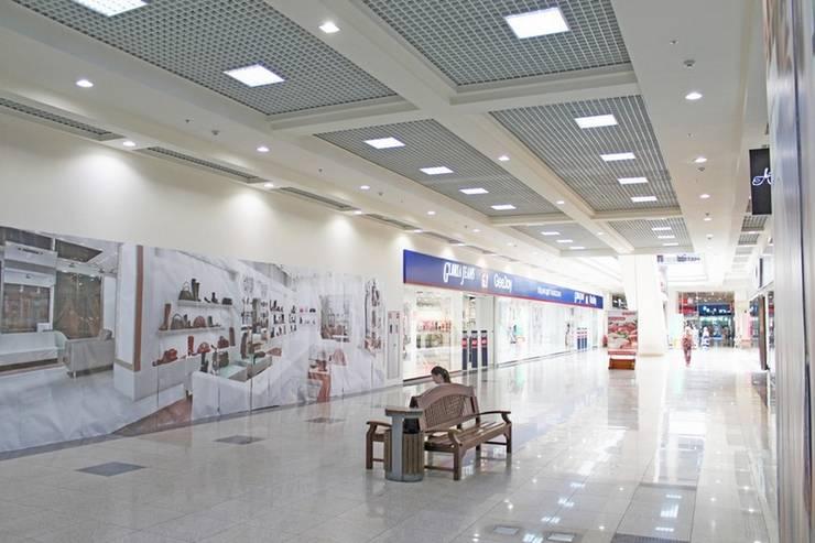 Интерьер III-очереди строительства ТРЦ КАРАВАН: Галереи  в . Автор – GP-ARCH,