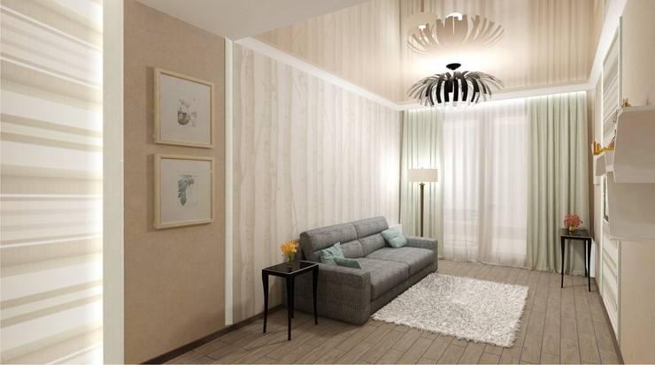 Камерная тональность.: Спальни в . Автор – Студия дизайна Ирины Комиссаровой