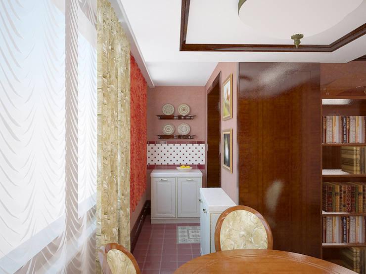 Цитаты английского стиля.: Кухни в . Автор – Студия дизайна Ирины Комиссаровой,