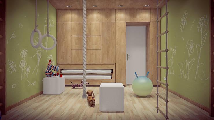 интерьер TRANSFIGURATOR: Детские комнаты в . Автор – YOUR PROJECT,