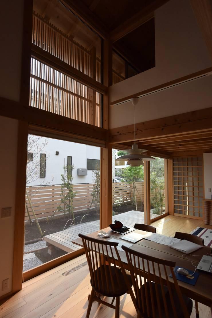 吉祥寺の家3: 株式会社松井郁夫建築設計事務所が手掛けた庭です。,