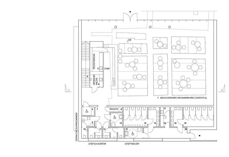 Rynek Częstochowa: styl , w kategorii  zaprojektowany przez TOPROJEKT