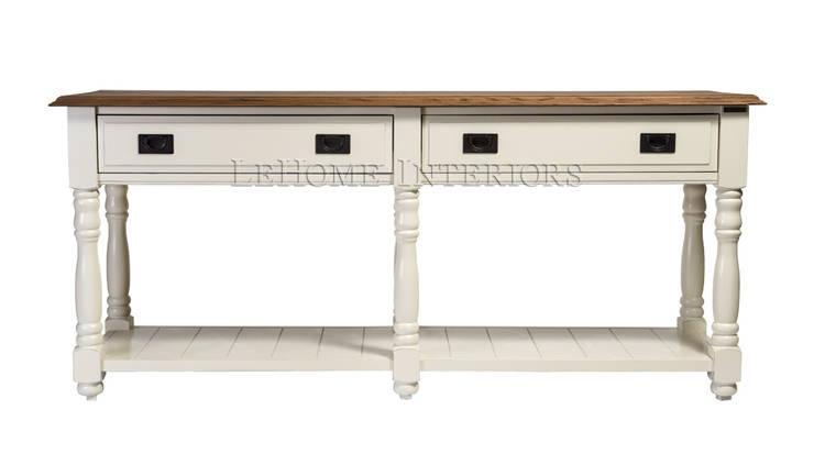 Консоль Keywest Console Table K003: Прихожая, коридор и лестницы в . Автор – LeHome Interiors