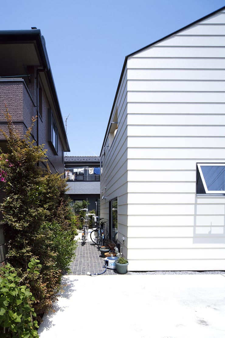 house in saitama ミニマルな 家 の 株式会社廣田悟建築設計事務所 ミニマル