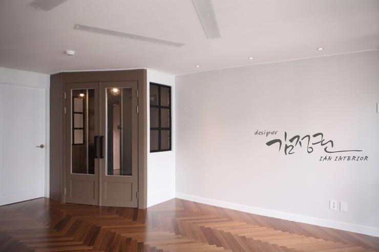 한빛 아파트: 김정권디자이너의  베란다
