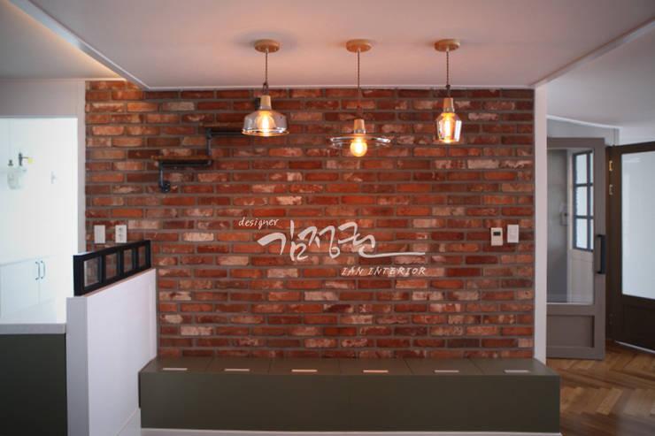 한빛 아파트: 김정권디자이너의  주택